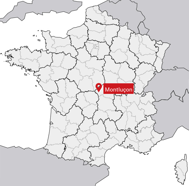 montlucon-carte-france